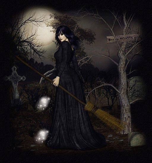 Brujería con magia negra